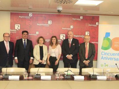 El Colegio de Registradores y la Universidad Autónoma de Madrid crean un Aula para la prevención del blanqueo de capitales