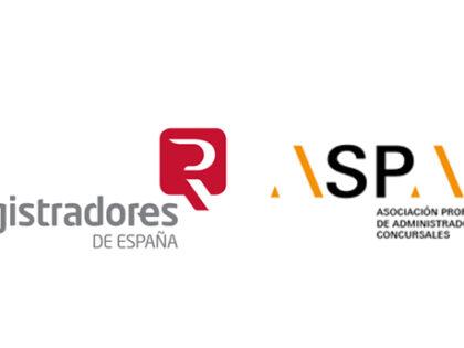 El Colegio de Registradores y ASPAC crean un grupo de trabajo para mejorar la tramitación de los concursos